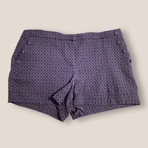printed blue shorts — maurices